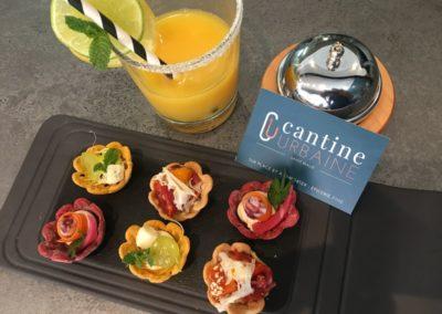 Cocktail dînatoire rhum et mignardises chez Cantine Urbaine à Saint-Malo